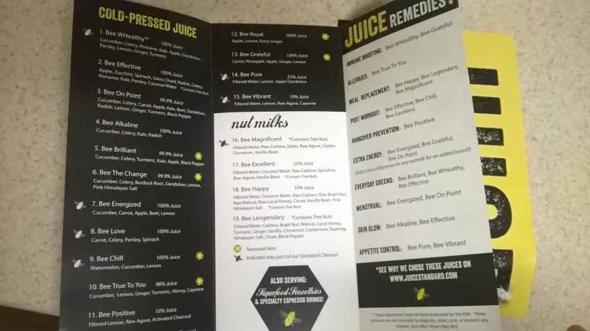 TJS menu