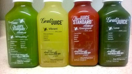 4 juices