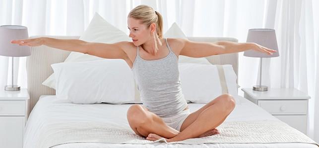 lazy yoga